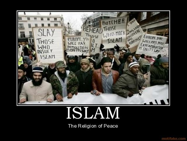 Islam. The religion of peace.