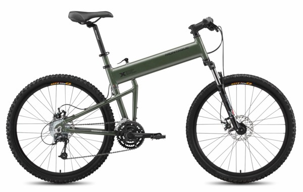 Montague Paratrooper folding mountain bicycle.