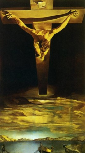 Salvador Dali. The Christ of St. John of the Cross.