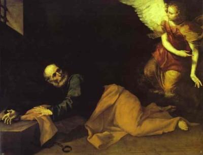 Jusepe de Ribera. The Deliverance of St. Peter.