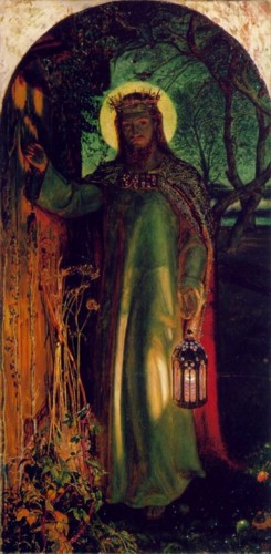 William Holman Hunt. The Light of the World.